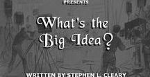 "Moodboard for ""What's the Big Idea?"" / Images inspiring the screenplay for the screwball comedy ""What's the Big Idea?"""
