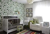 Cute nursery ideas / by Val Fitzpatrick