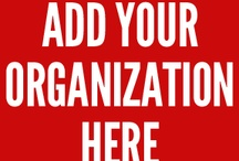 "Nonprofits on Pinterest / Nonprofits who actively pin and engage on Pinterest. If you're organization or cause is not listed here, please leave a comment on the ""Add Your Organization Here"" pin. Thank you. / by Noland // High Five Media"