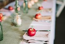 Wedding Food & Settings / Here's the board for all the brides out there that are browsing Pinterest for drink recipes, table settings, cake ideas, centerpieces, and any other food and setting needs you may have for your wedding!
