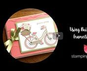 My Paper Crafting Videos / My 1 Minute to WOW! video collection of Stampin' Up! card ideas, paper crafting tips and tutorials. Card making & inspiration posted daily http://stampinpretty.com