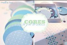 As nossas Cores de fim-de-semana / Todas as cores aqui: http://www.chapeudepapel.com/search/label/Cores