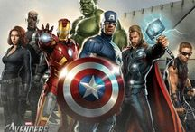 Avengers Assemble!! / I still believe in heroes. When I grow up I want to be one!!! / by Mrs. Teller-Stark