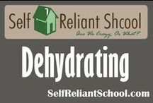 Dehydrating / How to dehydrate fruits, vegetables and more. / by Self Reliant School