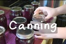 All things Canning / A board all about how to home can food, whether it's from your garden or a great sale at the grocery store. / by Self Reliant School