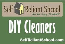 DIY Cleaners / No more chemicals!! Ideas to help you clean your home naturally. / by Self Reliant School