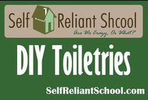 DIY Toiletries / How to make everything from soap to make-up yourself. / by Self Reliant School