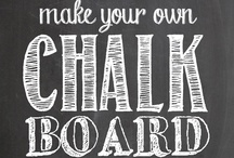 Chalkboard Design / by Noland // High Five Media