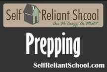 Prepping / Ideas, tips, and information for the preparedness minded. / by Self Reliant School