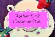 Cooking With Kids / Fun, fast, and easy #recipes you and your kids can make together! / by Amee