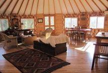 yurt, yurt, yurt  / by Selena Nanopoulos
