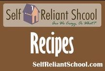 Recipes / Healthy recipes to try. (Well, mostly....:) / by Self Reliant School