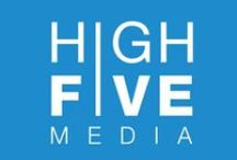 High Five Media / We do media, marketing, graphic designs, branding, direct mail,  and a whole lot more http://highfivemedia.us / by Noland Hoshino