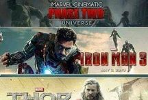 Marvel Cinematic Universe / by Mrs. Teller-Stark