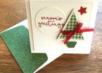 Christmas / Simple & pretty winter holiday & Christmas card ideas using Stampin' Up! products. Card making & inspiration posted daily http://stampinpretty.com