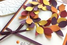 Autumn & Thanksgiving / Fresh fall, Thanksgiving & autumn card ideas using Stampin' Up! products. Card making & inspiration posted daily http://stampinpretty.com