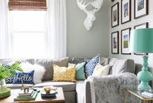 Home Paint Color Inspiration / Color boards and paint ideas