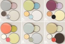 Color Cues / Color scheme inspiration for everything from paint colors to accessories for your home decor. / by Design Style | Home Decor