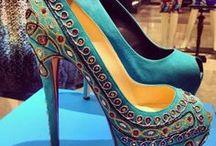 Ocean Blue & Turquoise Shoes
