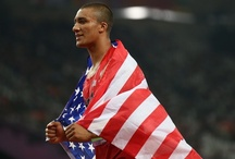 2012 Summer Olympics - London: Track and Field / Men's Decathlon / Men's Decathlon:  100m - 200m - 400m - 800m - 1500m - 5000m -10,000m - Marathon - 3000m - Steeplechase / by Cygnus Jim