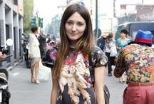 Mode ligt op straat (street fashion)