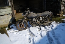 Guzzi V50 II Restoration / A friend has decided to restore an old bike of mine that I loved, but then I left it in a shed for 20 years. / by Sarah McDougall