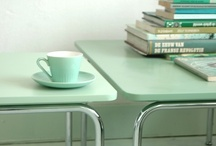 Green is in the house / Home decor inspiration -★- Green stuff...