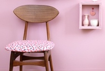 Pink is in the house / Home decor inspiration -★- Pink stuff...