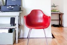 Red is in the house / Home decor inspiration -★- Red stuff...
