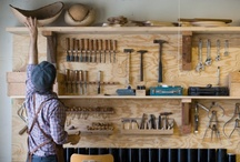 Tools are in the house / Home decor inspiration -★- Tools, old, vintage, craft, ideas...