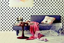Dots are in the house / Home decor inspiration -★- Dots stuff, objects, ideas...