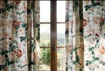 Liberty & floral patterns are in the house / Home decor inspiration -★- Liberty stuff, ideas...