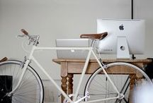 Bike is in the house / Home decor inspiration -★- Bikes, accesories, ideas...