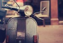 falling in love with a vespa