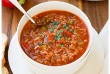 Real Food Soup & Chili / by Heather Ray