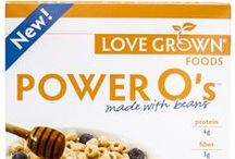 Power O's / Love Grown Foods Power O's will revolutionize your breakfast. made with navy beans,lentils,and garbanzo beans, Power O's are a powerfully nutritious cereal and a great way to power up your day! / by Love Grown Foods