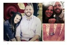 Our Happy Couples / Photos of our newly engaged clients!