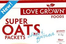 Super Oats Packets / Love Grown Foods® Super Oats Packets are not your traditional oatmeal! These single-serve packets made with the perfect blend of oats, chia seeds, quinoa flakes, and amaranth flakes are perfect to have on hand. Super Oats Packets are ready in 3 minutes and make eating breakfast healthy, easy, and convenient! / by Love Grown Foods