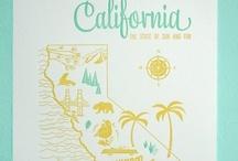 i <3 california / by Kellee Nelson