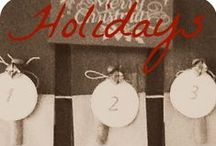 Holidays / Everything winter & Christmas, with a nod to rustic + French + Swedish tradition.