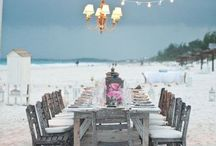 Beach wedding that i want for our 10 yr / by Kara Lang