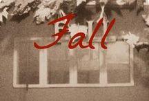Fall / Autumn + Halloween + Thanksgiving