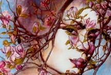 branch / Alone with myself The trees bend to caress me The shade hugs my heart. ~Candy Polgar~ / by Kristen Gill