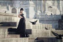 ღ.¸¸.✿❤Blanco y negro.  White and black. / by Elisabeth  ღ.¸¸.✿❤