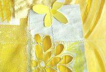 ღ.¸¸.✿❤Blanco y amarillo - White and yellow / by Elisabeth  ღ.¸¸.✿❤