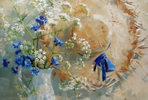 ღ.¸¸.✿❤Azul y marrón - Blue and brown / by Elisabeth  ღ.¸¸.✿❤