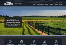 web designs / Some of our custom work for local clients and commercial themes...