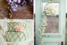 Green Wedding Colour Scheme / This colour scheme will leave you green with envy.