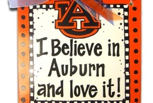 Auburn  / Proud to be a Auburn Fan War Damn Eagle  / by Wanda Davis