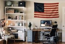 The Workspace / This is the place to share my ideas and pins for a home office or studio.